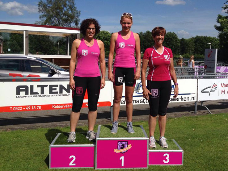 Uitslagen Vrouwentriathlon Nijeveen 2014