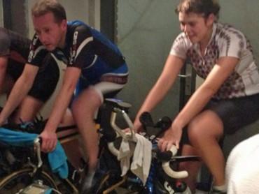 Indoor fietstrainingen