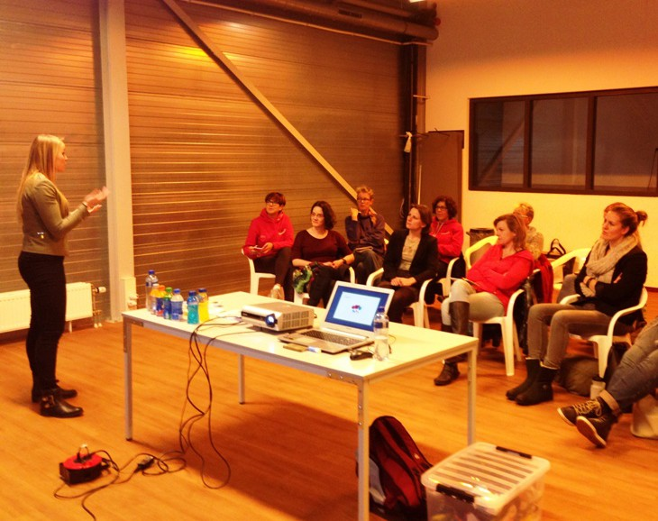 Foto clinic voeding & materiaal 2015
