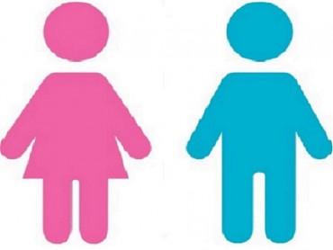 Man-vrouw symbolen