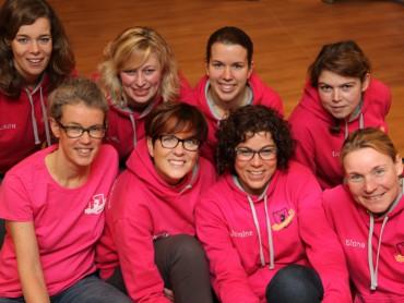 Het team van de Vrouwentriathlon