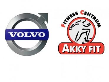 Logo Akky Fit en Volvo