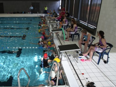 Zwemmers bijna klaar voor de start