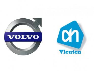 Logo's Volvo en AH Vleuten
