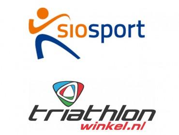 Logo's Siosport en Triathonwinkel.nl