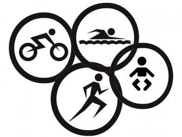 zwemmen-fietsen-hardlopen-baby