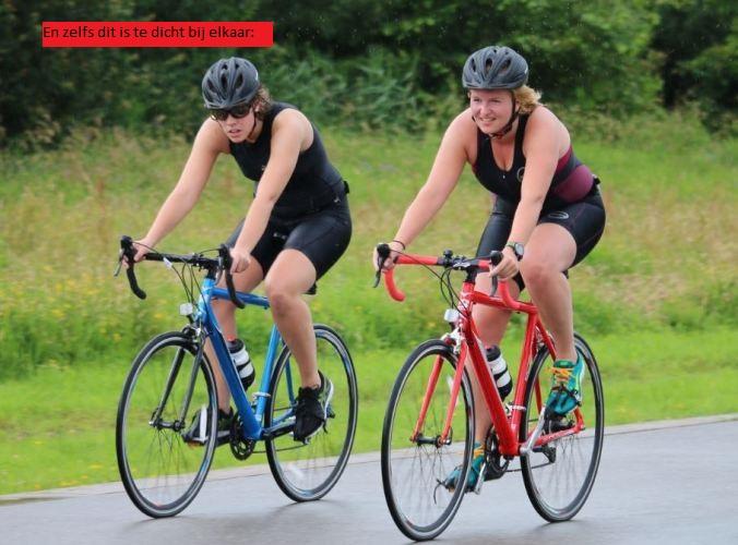 Tweetal fietsers