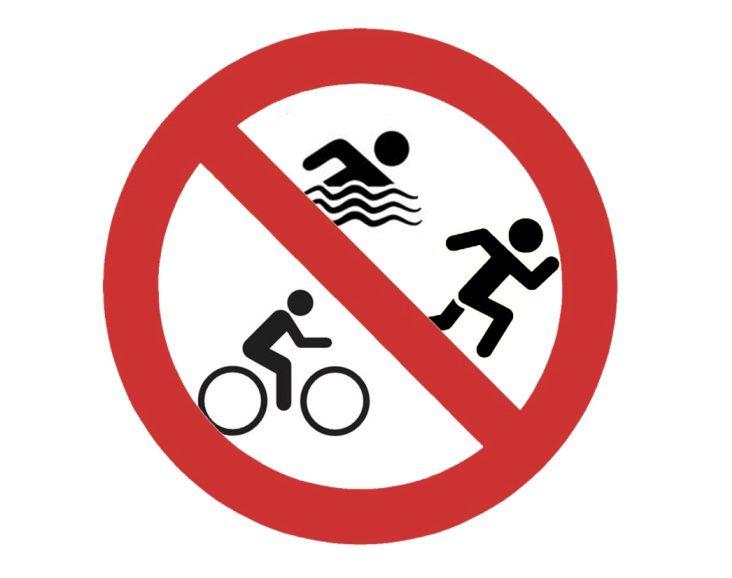 Niet meer zwemmen-fietsen-lopen in Beesd