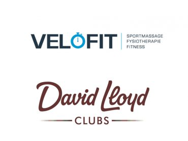Logo's Velofit en David Lloyd