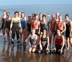 Lanzarote Vrouwentriathlon trainingsweek 2012