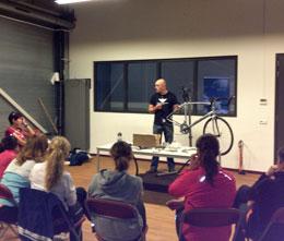 Clinic fietsonderhoud
